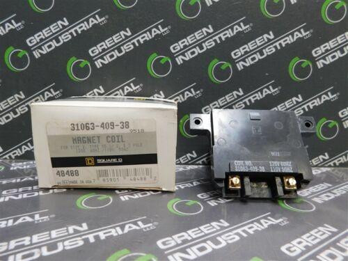Details about  /NEW Square D 31063-409-38 Magnet Coil 120V//60Hz 110V//50Hz For Size 2 Type SD
