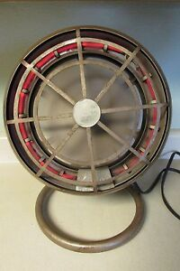 Vintage Arvin Electric Heater Amp Fan Model 5030 Hot Or Cool