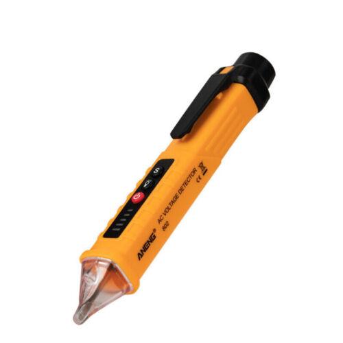 12-1000V Elektrisch-Prüfer Stift Berührungslos Wechselspannung Detektor Tester