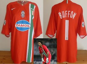 low priced fea8d aa9ca Details about Juventus Goalkeeper football shirt 04/05 Buffon Nike Player  spec used XXL PSG
