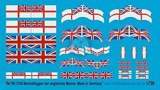 Peddinghaus 1/700 Royal Navy British Naval Warfare Force Markings WWII 3148