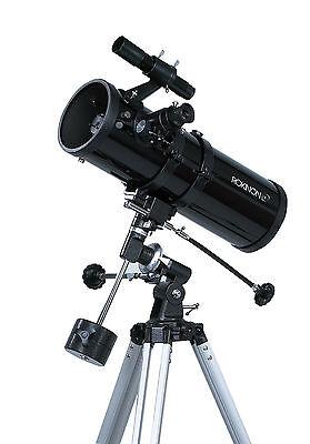 Rokinon 1000 x 114mm Reflector Telescope with Starry Night CD Software & Tripod