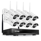 ZOSI (ZS4ZG2317AZR08AA05) 8ch/960p Wireless NVR Outdoor Network Security IP Camera System
