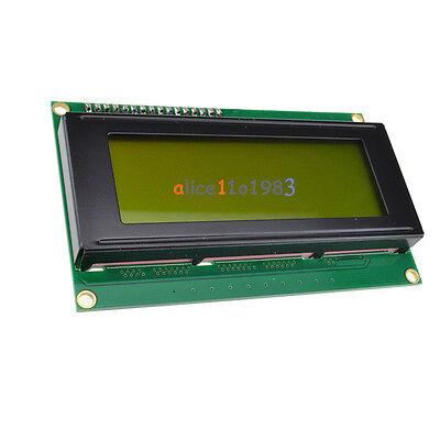 IIC/I2C/TWI/SPI Serial Interface2004 20X4 Character LCD Module Display Yellow