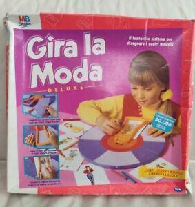 GIRA-LA-MODA-Deluxe-Gioco-con-scatola-MB-Giochi-Vintage