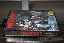 Predator 2 (Sega Genesis, 1992) FACTORY SEALED! - RARE!