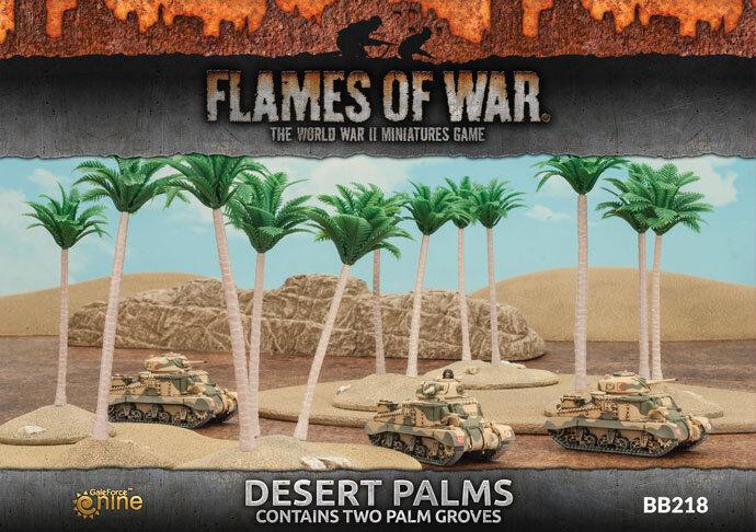 Desert Palms (x2) Battlefront Miniatures