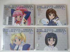 NEW The Steel Angel Kurumi 2 Shiki Complete Episodes 1-12 Japan R2 Anime DVD