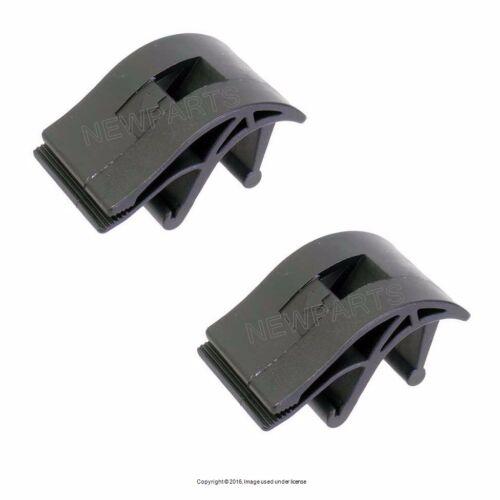 Upper Radiator Mount Bracket Support Clip For BMW-Pack of 2-17 11 1 712 660
