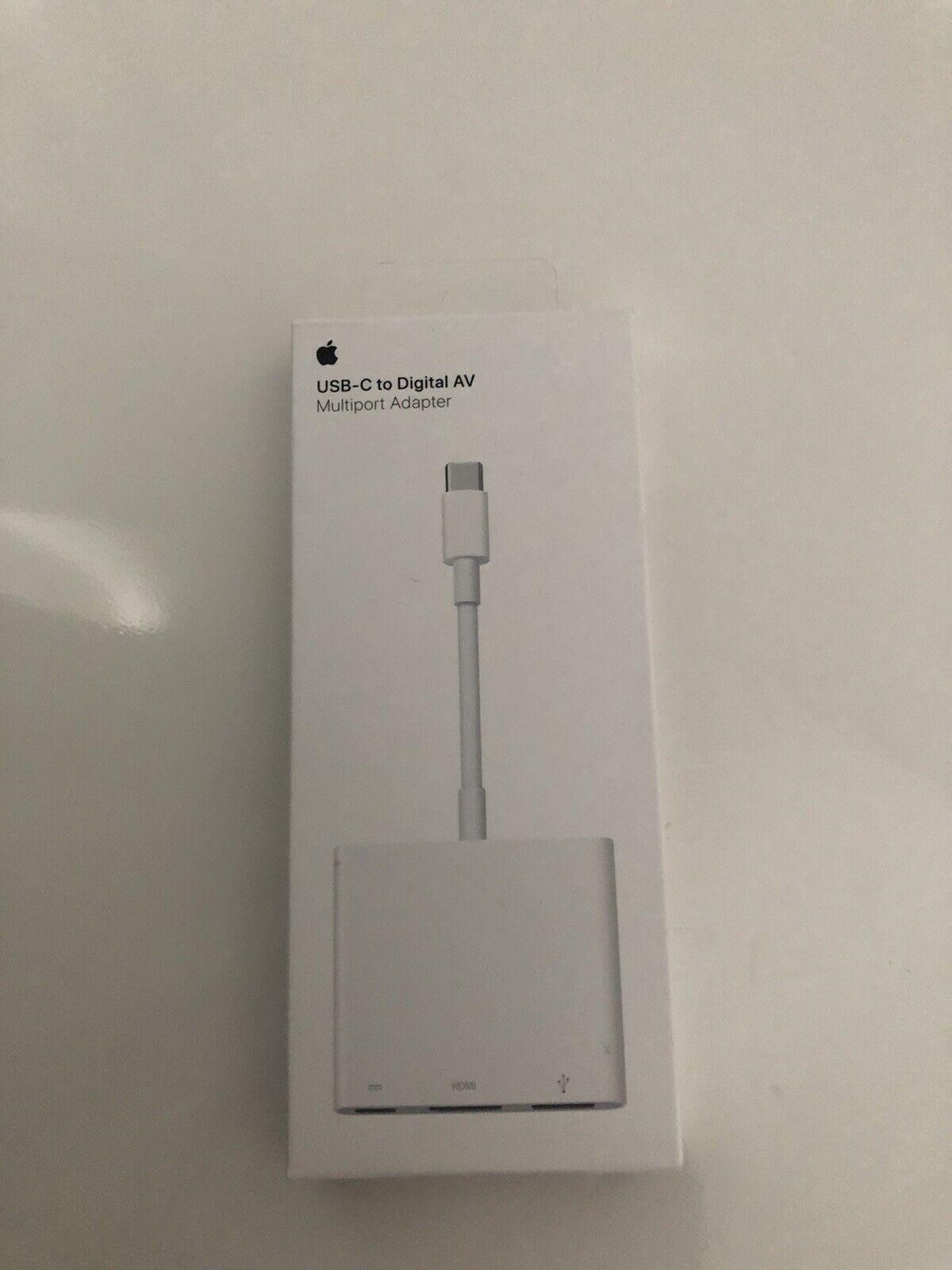 apple usb-c to digital av multiport adapter