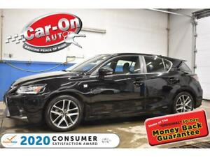 2017 Lexus CT 200h F-SPORT 2 | RED LEATHER | NAVIGATION