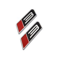 2x Redampblack Roush Stage 3 Emblem Mustang Badge Chrome Metal Sticker Sport Decal Fits Focus