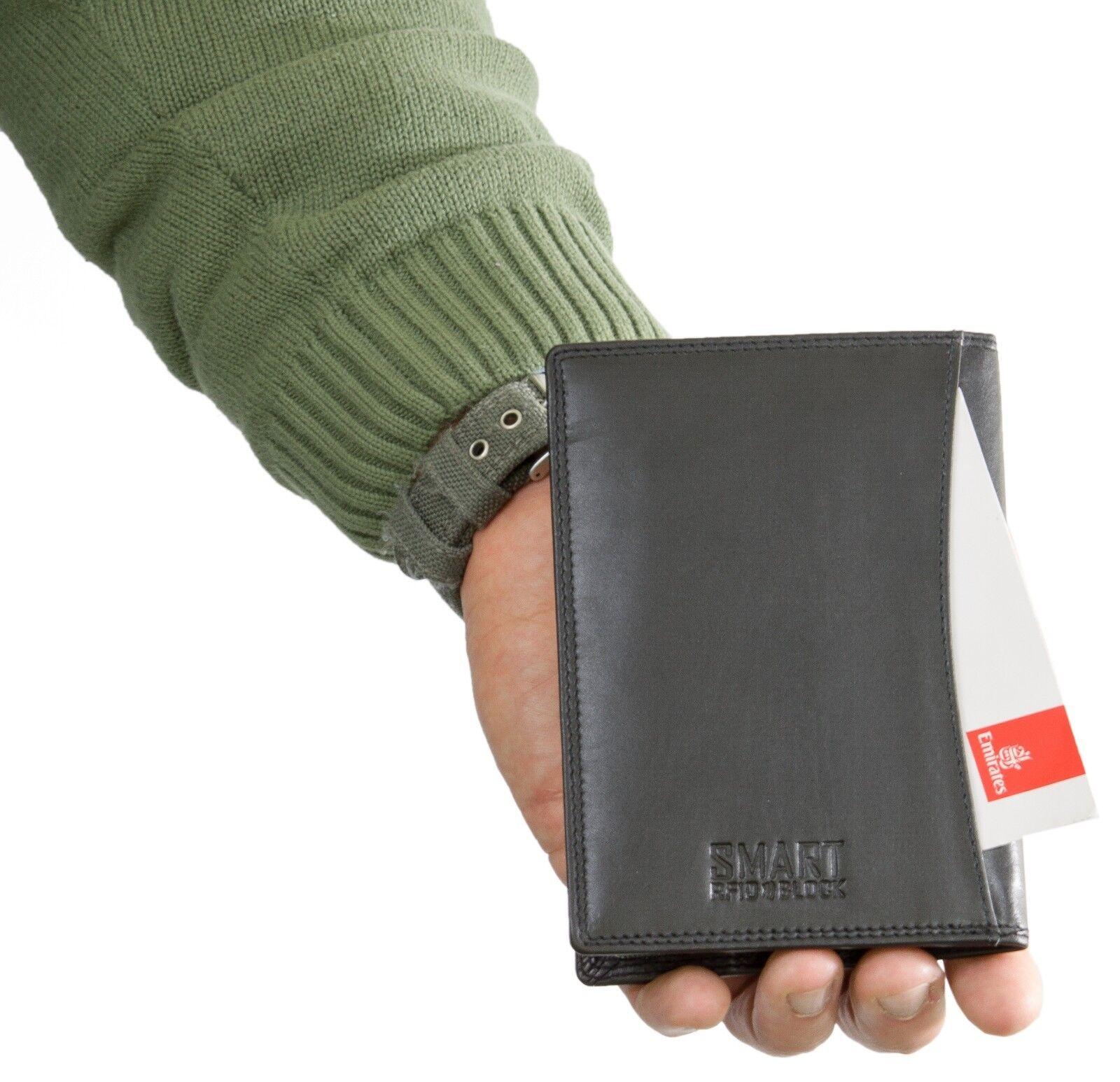 ✅ KORUMA RFID bloquant En En En Cuir De Voyage Biométrique Porte-passeport étui fe19d0