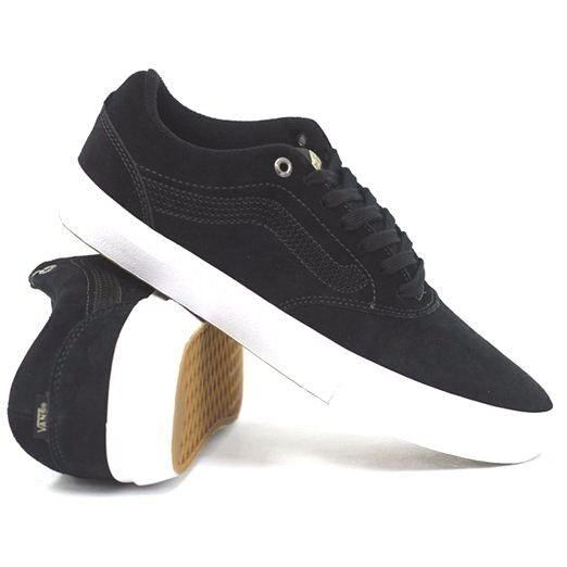 Nero bianco / bianco Nero furgoni euclide pattinare scarpe uomini 7,5 donne 9 bb24b8