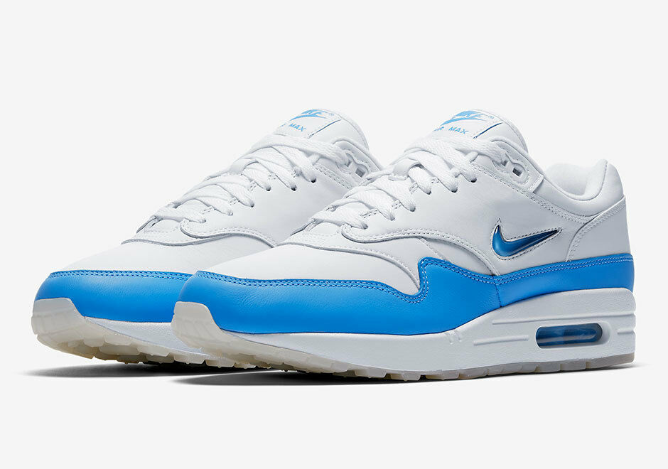Nike Air Max 1 Premium Jewel University Blue size 8-13