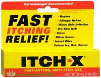 Itch-x Anti-itch Gel 1.25 Oz (pack Of 4) on sale