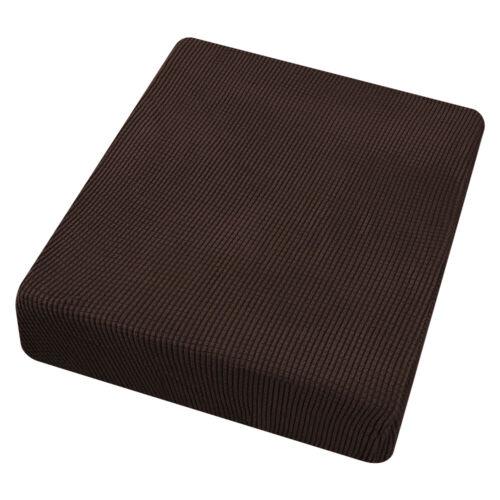 Stretch Chair Seat Cushion Cover Sofa Slipcover Furniture Cover w//Elastic Bottom