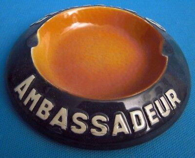 Praktisch Cendrier Ambassadeur Cusenier En CÉramique Ref 302761913925 Fancy Colors