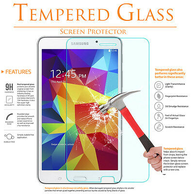 Tempered Glass Screen Protector Guard Shield For Samsung Galaxy Tab 4 NOOK 7.0