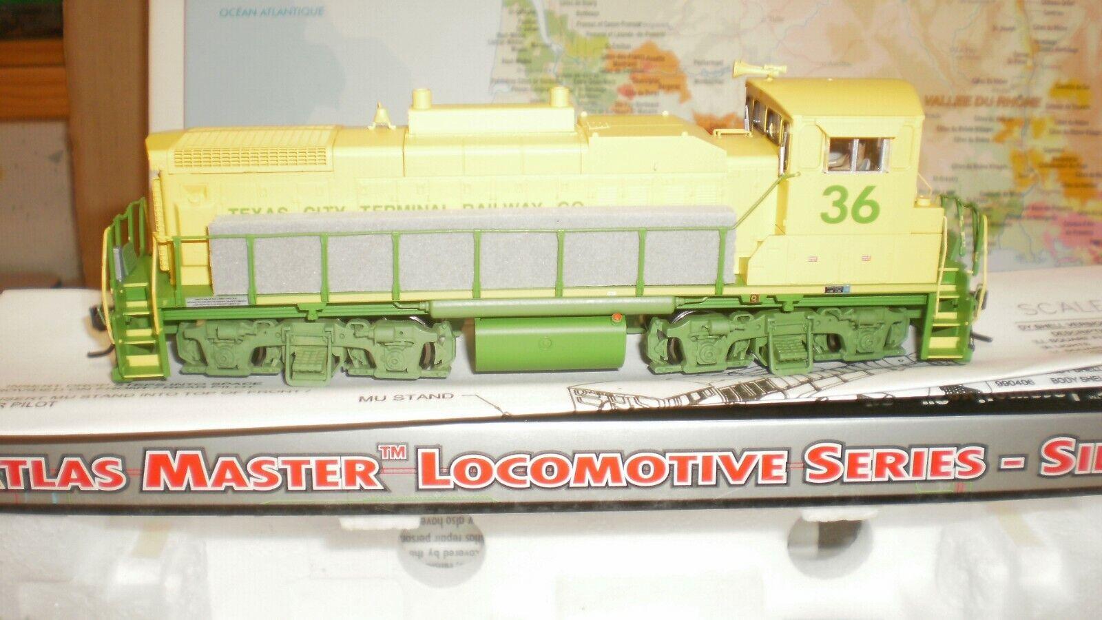 Loco diesel MP15 DC Texas città Terminal USA Atla argento édit. limitée HO