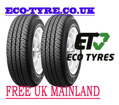 2X Neumáticos 215 75 R16C 116//114Q 10PR ROADSTONE CP321 van C C 72dB