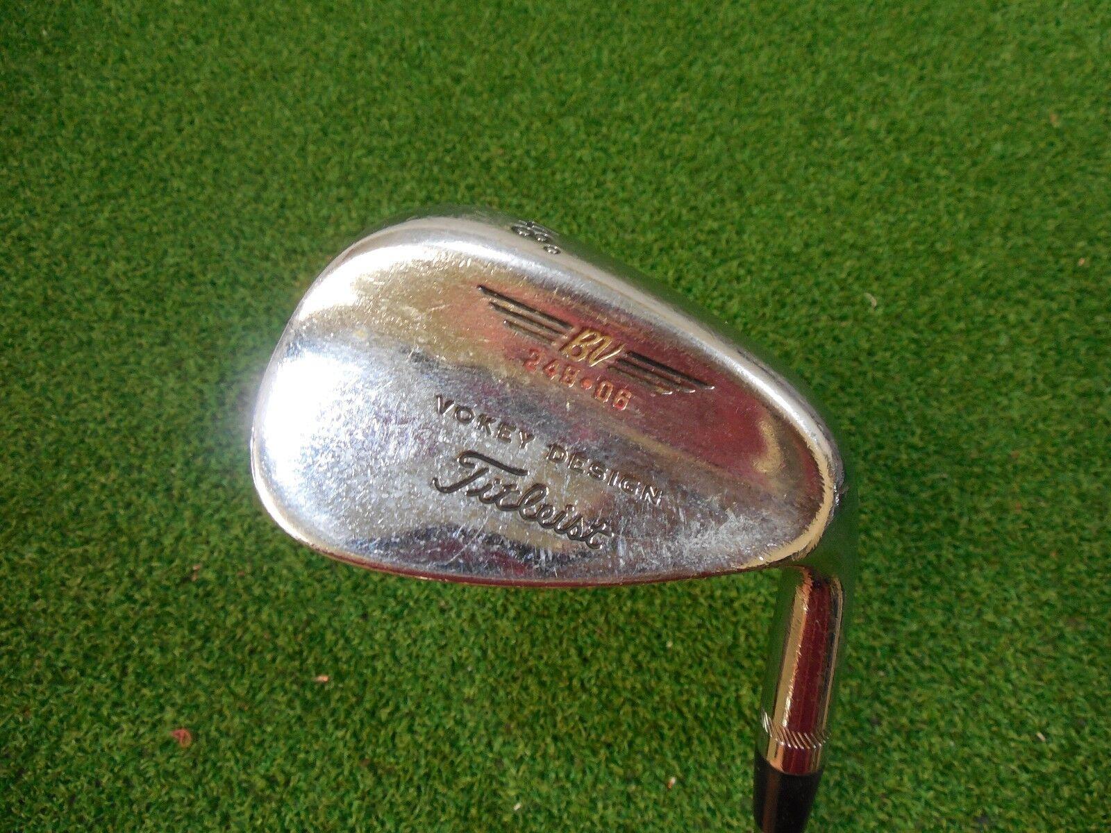 Utilizado Titleist serie  200 de cromo 248.08 Gap Wedge Dynamic oro Cuña Flexible De Acero  los últimos modelos