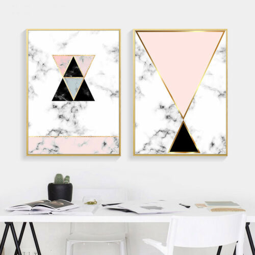 Geometry Canvas Poster Modern Abstract Wall Art Print Nodic Home Decoration