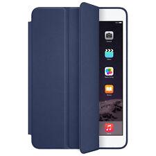 For iPad mini 1 2 3 Retina Smart Étui Mince Support Housse En Cuir bleu foncé