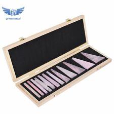 12 Pcs Precision Steel Angle Block Set 14 To 30 Degree Gauge Block