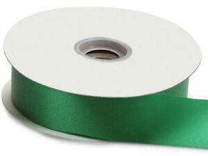 Flora-Satin-Ribbon-3-4-034-x-100-yd-Berwick-Offray-Emerald