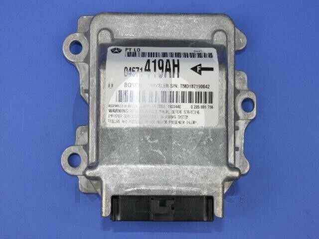 Air Bag Control Module Mopar 4671419ah Fits 0405 Chrysler Pt Rhebay: Pt Cruiser Air Bag Control Module Location At Gmaili.net