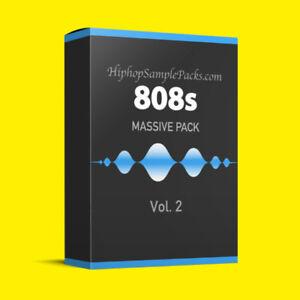 Details about Massive 808 DRUM SAMPLES Vol 2 Hip Hop Trap KIT MPC FL Studio  Ableton ⭐️⭐️⭐️⭐️⭐