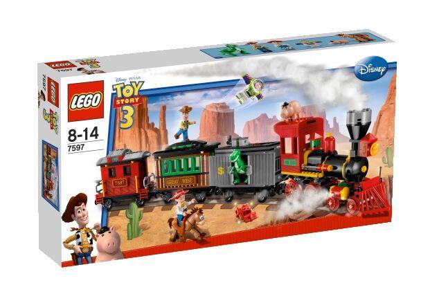 Lego City Western Train Chase (56B1D03A)