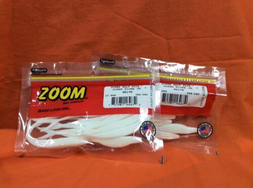 2 PCKS 10cnt ZOOM Super Fluke Jr #056-040 White