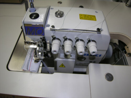 JUKI MO 6816S Industrie 2Nadel 5Faden Saftey Overlock Nähmaschine mit Servo