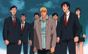 GTO Great Teacher Onizuka Anime Production Cel Douga Face Slapped Studio Pierrot