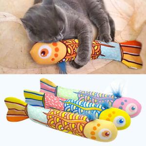 Cute-Cat-Favor-Fish-Toy-Funny-Stuffed-Interactive-Pet-Kitten-Play-Toys-amp-Catnip