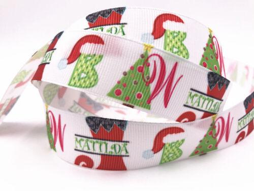 Wholesale! 1-10 yds 1/'/' 25mm printed grosgrain ribbon Hair bow sewing select