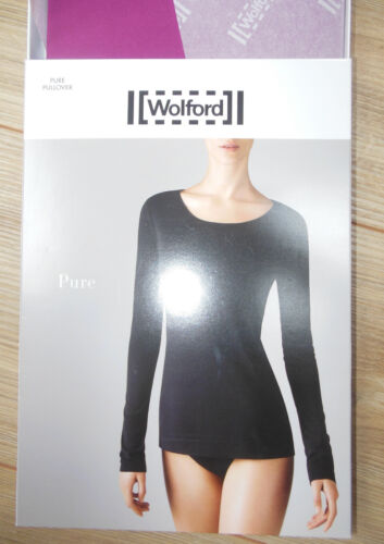 Taille Nouvel Pullover Uk 40 S Bnib Wolford Acai 12 38 10 Pure T6n7xvqEx