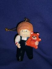Vintage CPK Cabbage Patch Kid  Figure Christmas Ornament 1984 3 inch