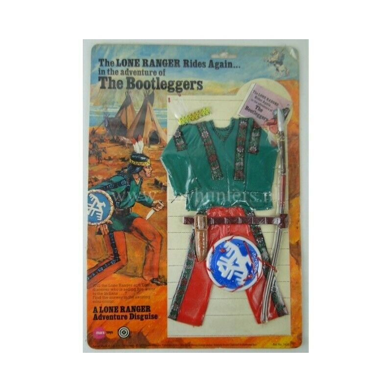 The avvioleggers outfit MOC  The Lone Ranger Marx giocattoli 1975 autoson città