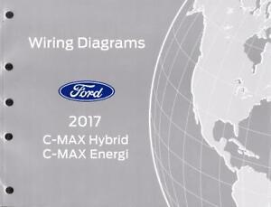 2017 Ford C-Max Hybrid & Energi OEM Factory Wiring ...