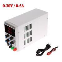 30V 5A Mini Variable Precision Adjustable LED Digital Regulated DC Power Supply