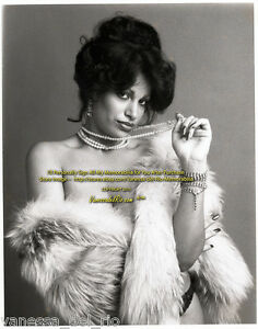 Vanessa-del-Rio-ADULT-Film-Star-in-Fur-Photo-1975-VERY-RARE-Sign-AFT-BUY-w-COA