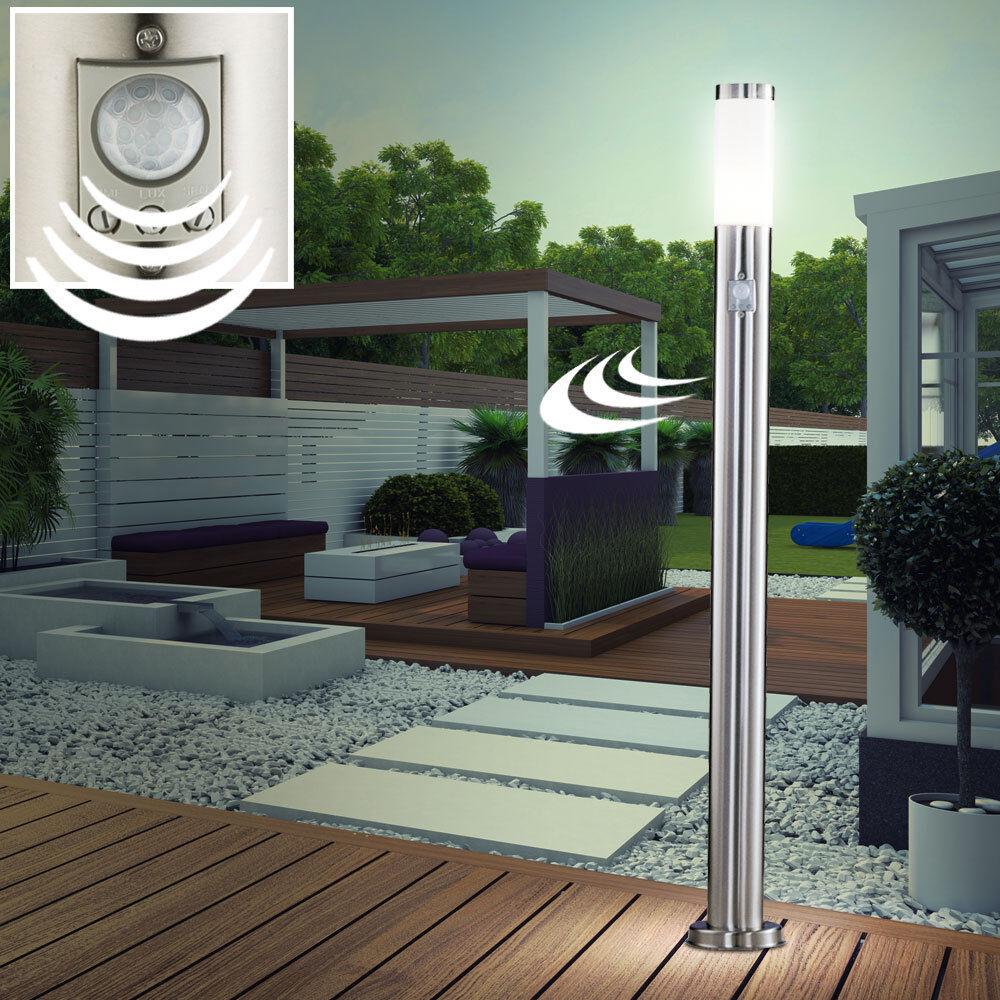 LED Exterior Iluminación Camino Acero Inox. de Pie Stand Luz Big Light