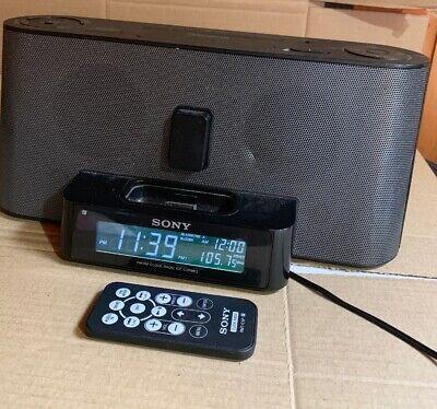 Sony ICF C1iPMK2 Speaker Dock Clock Radio for iPod + iPhone | eBay