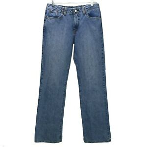 Lucky-Brand-Womens-Boot-Cut-Jeans-Size-10-Light-Wash-Denim-Mid-Rise