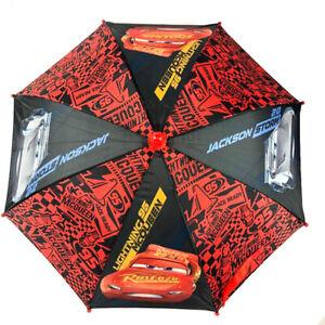 Disney-Cars-3-Lightining-Mc-Queen-amp-Jackson-Storm-Molded-Umbrella-for-Kids