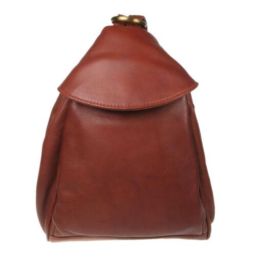 Vitali Ladies Soft Leather Rucksack Backpack Bag Quality Genuine Leather SN056