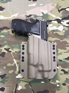 Multicam Kydex Holster SIG P226R Thread Barrel Combat Surefire X300 Ultra A